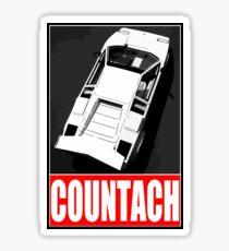 Countach - Top Sticker