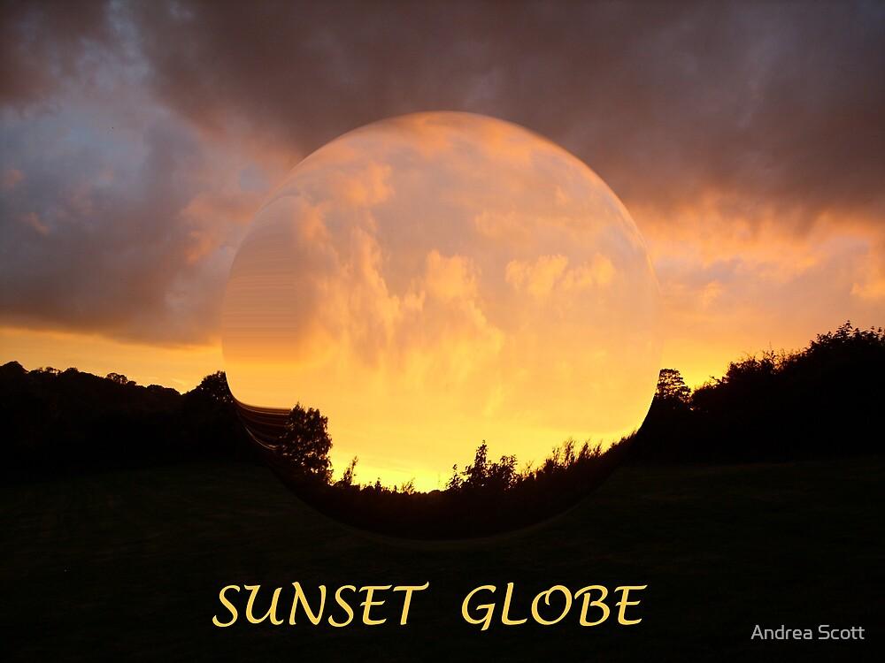 Sunset Globe by Andrea Scott