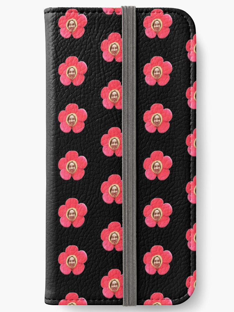wholesale dealer 7477a 77d33 'Jhope Chuseok Flower (Black)' iPhone Wallet by Briana8