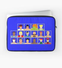Select Your Character - Street Fighter 2: The New Challengers Laptop Sleeve