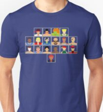 Select Your Character - Super Street Fighter 2 Turbo Unisex T-Shirt