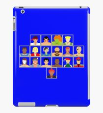 Select Your Character - Super Street Fighter 2 Turbo iPad Case/Skin