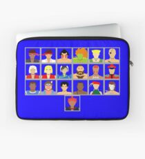 Select Your Character - Ultra Street Fighter 2 Laptop Sleeve