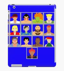 Select Your Character - Ultra Street Fighter 2 iPad Case/Skin