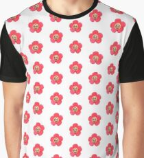 Jhope Chuseok Flower (White) Graphic T-Shirt