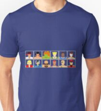 Select Your Character - Street Fighter 2 Champion Edition Unisex T-Shirt