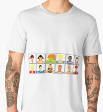 Select Your Character - Street Fighter 2 Champion Edition Men's Premium T-Shirt