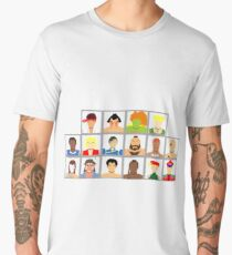 Select Your Character - Street Fighter 2: The New Challengers Men's Premium T-Shirt