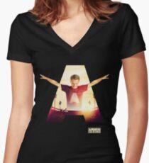 Amin Van Buuren - festival - fan Women's Fitted V-Neck T-Shirt