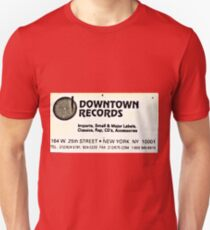 DOWNTOWN RECORDS Unisex T-Shirt