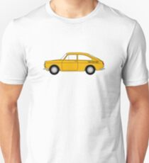 VW Type 3 Yellow Unisex T-Shirt