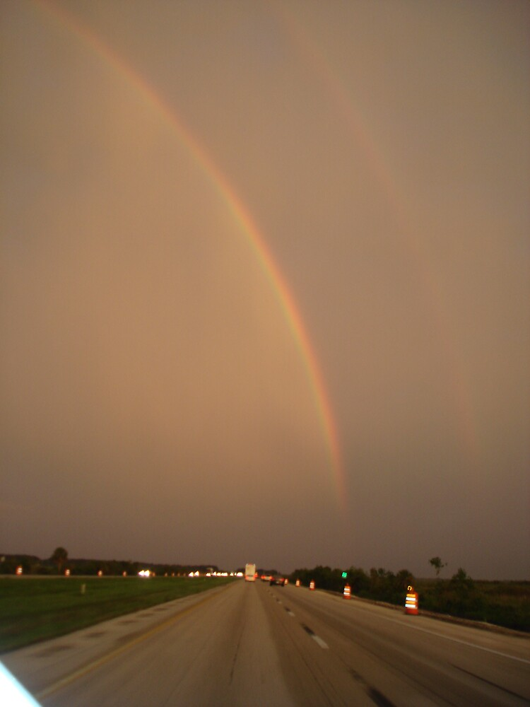 Rainbow Road by Dario  da Silva