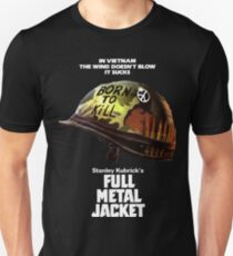 Full Metal Jacket White Unisex T-Shirt