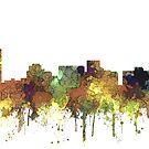 Arlington, Texas Skyline - SG - Safari Buff von Marlene Watson