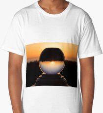 California Snow Globe Long T-Shirt