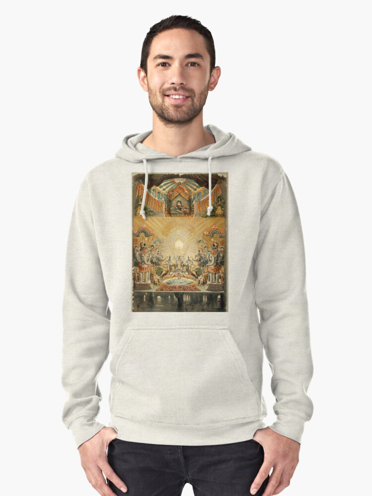 Arabian nights - Courier - 1888 Pullover Hoodie Front