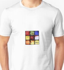Funky Zombie Cube By BoardZombies Art Design T-Shirt