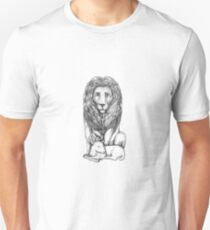Lion Watching Over Lamb Tattoo Unisex T-Shirt