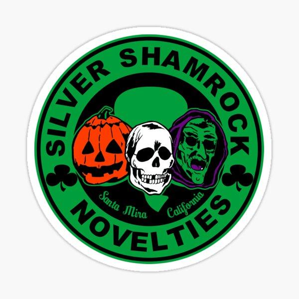 Silver shamrock Sticker