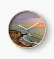 Pelican Cove At Sunset Clock