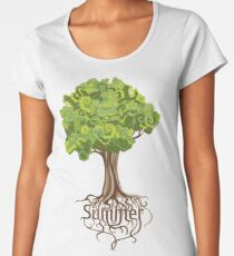 Summer tree Women's Premium T-Shirt