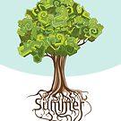 Summer tree by yatskhey