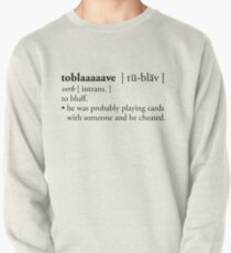 toblaaaaave - defined Pullover