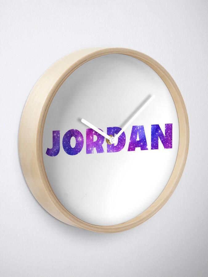 Alternative Ansicht von Jordanien Uhr