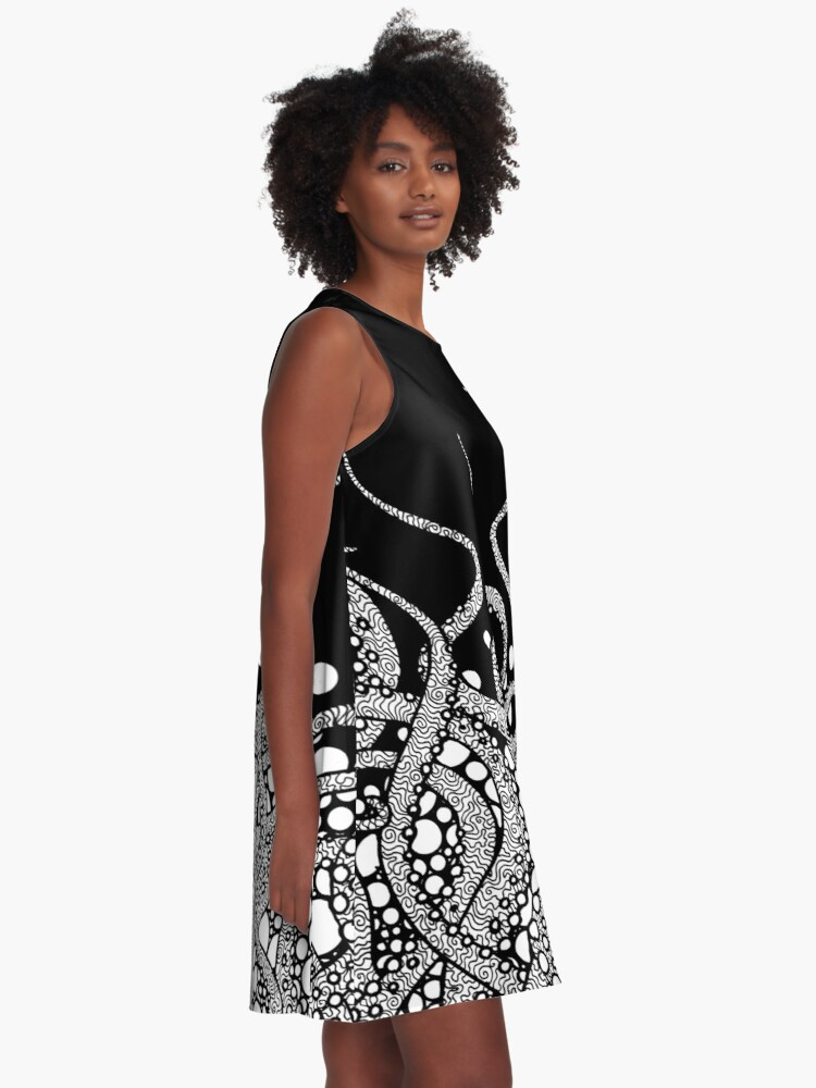 Alternate view of Tentacles A-Line Dress