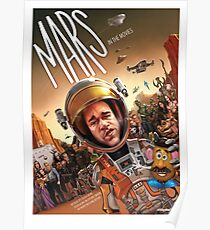 A quiet trip to Mars Poster