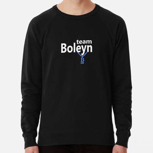 Team Boleyn on black Lightweight Sweatshirt