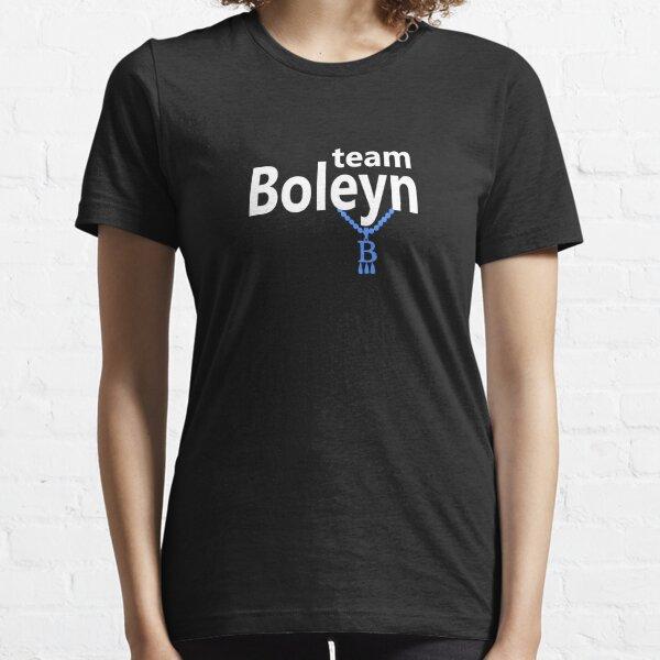 Team Boleyn on black Essential T-Shirt