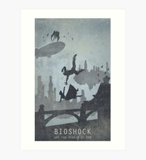 Bioshock Infinite Game Poster Art Print