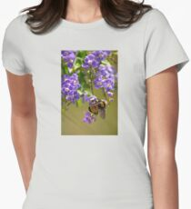 Save The Bumble Bee Womens Fitted T-Shirt