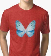 MISS BUTTERFLY EUPLOEA X-RAY White Edition Tri-blend T-Shirt