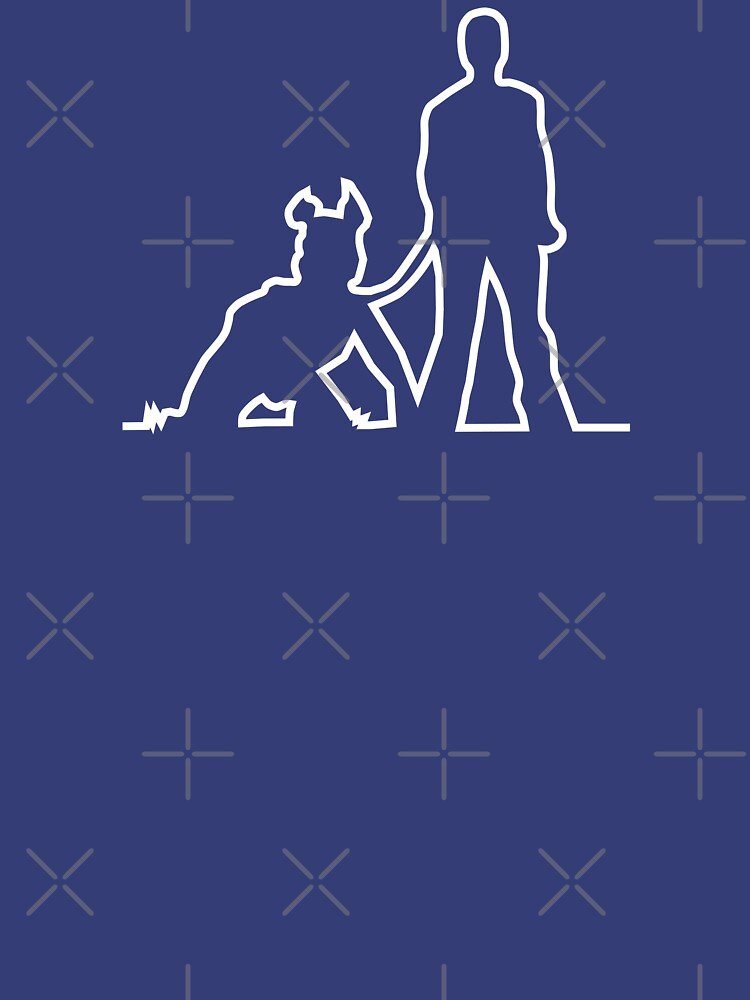 Nerdy Doggo Pup and Trainer by NerdyDoggo