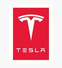 Lámina artística Tesla