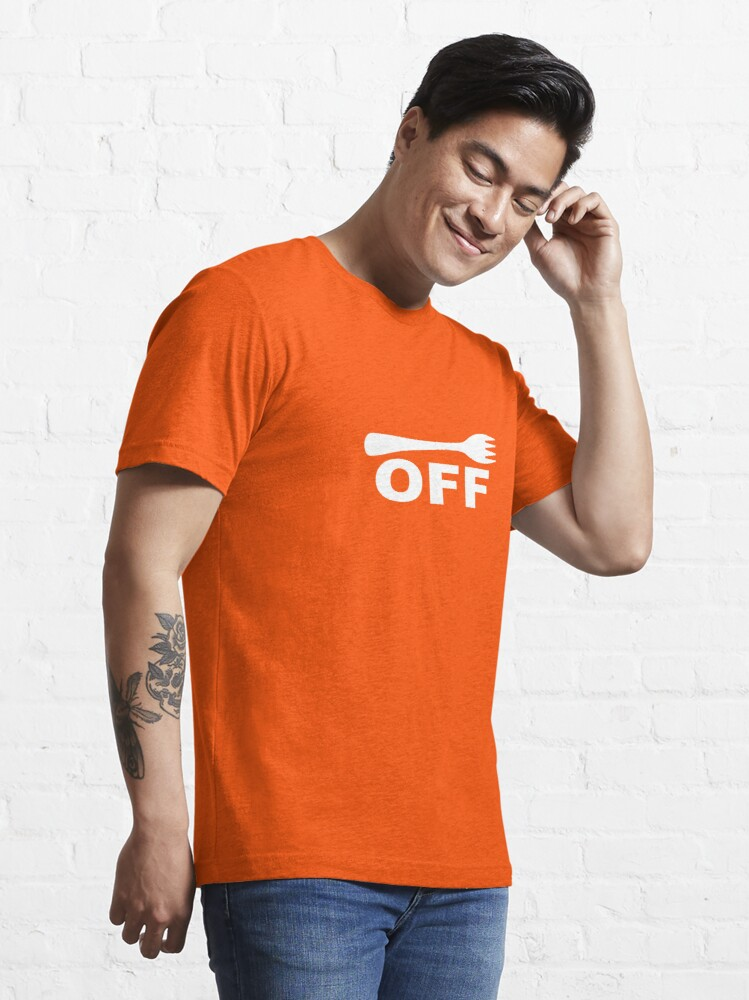 Alternate view of Fork Off Essential T-Shirt