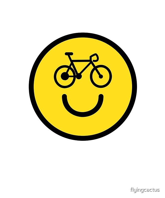 I Love Cycling Smiley Emoji Happy Bike Face Unisex T Shirt By