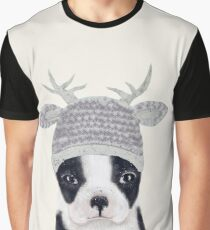 little boston ooh deer Graphic T-Shirt
