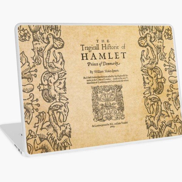 Shakespeare, Hamlet 1603 Vinilo para portátil