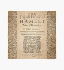Shakespeare, Hamlet 1603 Scarf