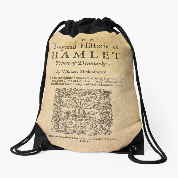 Shakespeare, Hamlet 1603 Mochila saco