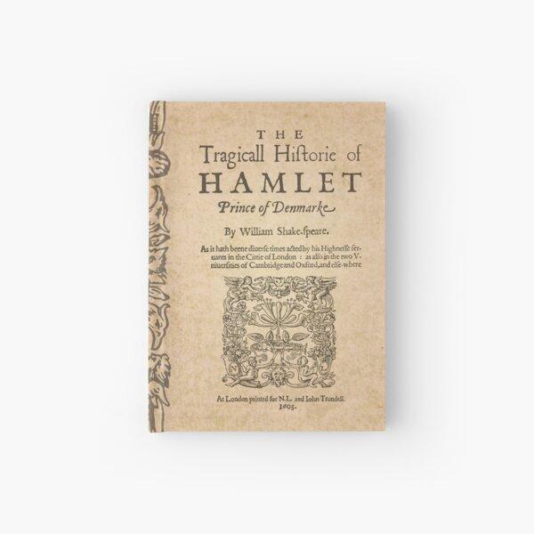 Shakespeare, Hamlet 1603 Cuaderno de tapa dura