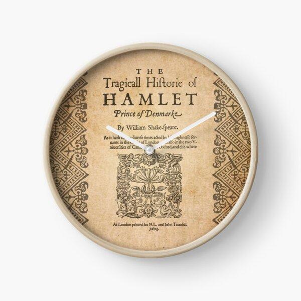Shakespeare, hameau 1603 Horloge