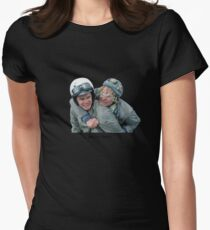 Dumb and Dumber Aspen Womens Fitted T-Shirt