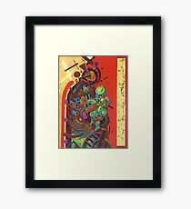 """Byzantine Construction"" 4 Framed Print"
