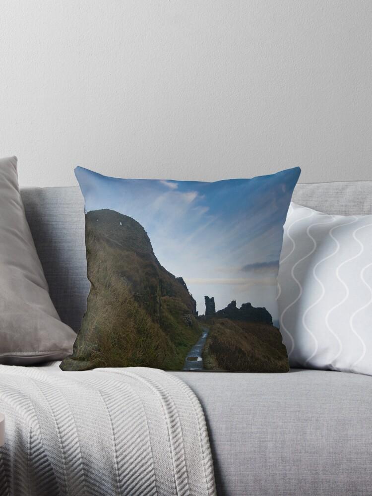 Tintagel Castle by Sandy  McClearn