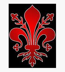 Florenz, Medici Familie Symbol Logo Fotodruck