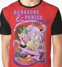 Dungeons & Ponies Graphic T-Shirt